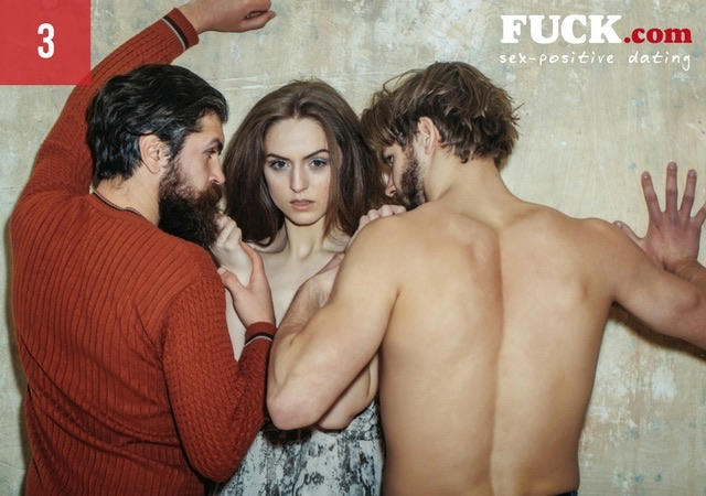 Woman and two men up against a wall Fuck.com.jpg