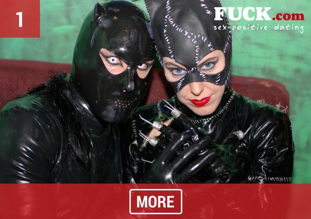 Couple of kinksters dressed in Fetish gear