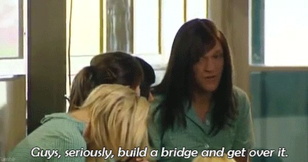 Ja'mie King 'get over it' quote. Fuck.com