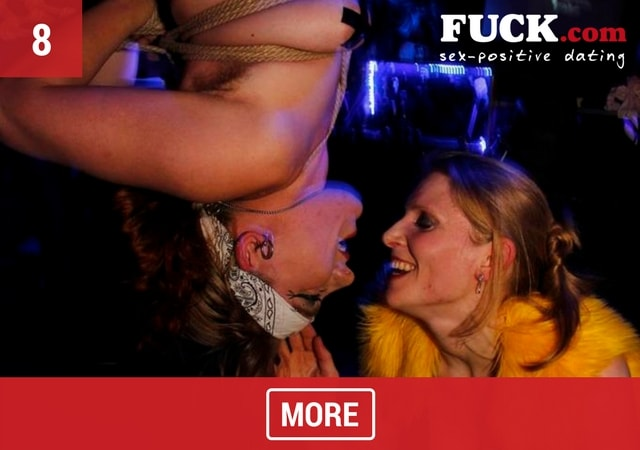 Image of two girls enjoying KinkFest 2017
