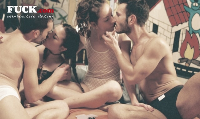 Swingers having an orgy in a sex party - Fuck.com