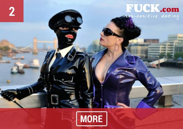 2 women in latex fetish wear. Fuck.com