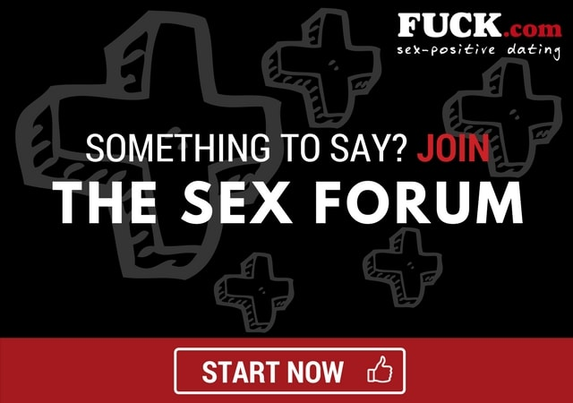 Banner to join the sex talk in the forum. Fuck.com