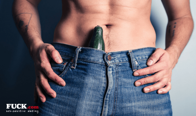 Using a vegetable as a sex toy - more common than you think!